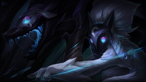 Rating: Safe Score: 29 Tags: kindred lamb league_of_legends vegacolors wallpaper User: Mr_GT