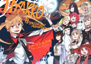 Rating: Safe Score: 12 Tags: bandages halloween hyakko katou_haruaki maid seifuku witch User: Radioactive