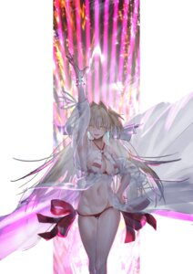 Rating: Safe Score: 35 Tags: bikini fate/grand_order rolua saber_extra see_through swimsuits User: Mr_GT