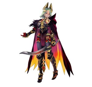 Rating: Questionable Score: 8 Tags: armor fire_emblem fire_emblem_heroes heels horns laegjarn maeshima_shigeki nintendo sword User: fly24