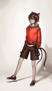 Rating: Safe Score: 7 Tags: animal_ears chen dantewontdie genderswap male nekomimi tail touhou User: charunetra