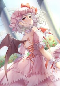 Rating: Safe Score: 65 Tags: dress remilia_scarlet touhou wings yana_mori User: Mr_GT