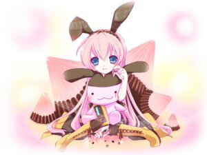 Rating: Safe Score: 7 Tags: animal_ears bunny_ears haru_aki megurine_luka vocaloid User: CC