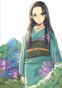 Rating: Safe Score: 12 Tags: bashikou kimono megane User: charunetra