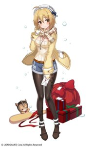 Rating: Safe Score: 38 Tags: christmas cleavage kyjsogom pantyhose soul_worker sweater tagme User: Dreista