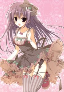 Rating: Safe Score: 49 Tags: dress garter_belt inugami_kira stockings thighhighs User: crim