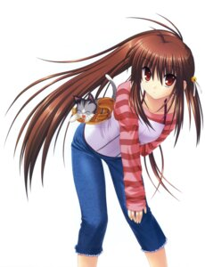 Rating: Safe Score: 11 Tags: key little_busters! na-ga natsume_rin neko possible_duplicate tagme User: marechal