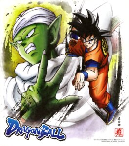 Rating: Safe Score: 4 Tags: dragon_ball male piccolo son_goku uniform User: drop