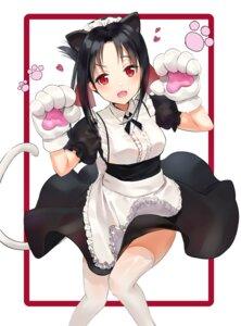 Rating: Safe Score: 42 Tags: animal_ears kaguya-sama_wa_kokurasetai_~tensai-tachi_no_renai_zunousen~ kian maid shinomiya_kaguya skirt_lift tail thighhighs User: Mr_GT
