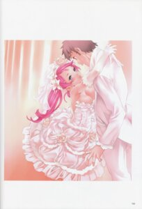 Rating: Questionable Score: 21 Tags: cleavage dress nishieda wedding_dress User: eccdbb