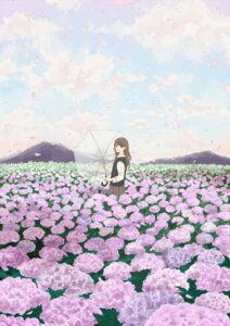 Rating: Safe Score: 26 Tags: haruko_(milk_tea) landscape seifuku umbrella User: Noodoll