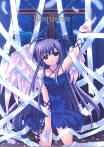 Rating: Safe Score: 10 Tags: nishimata_aoi wings User: Radioactive