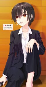 Rating: Safe Score: 6 Tags: business_suit cheers! crossdress kobuichi smoking User: kiyoe