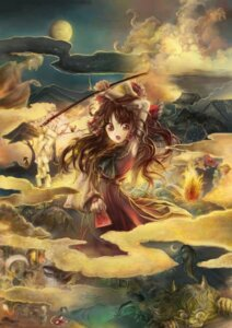 Rating: Safe Score: 11 Tags: hakurei_reimu jikan_harushoku touhou User: Radioactive