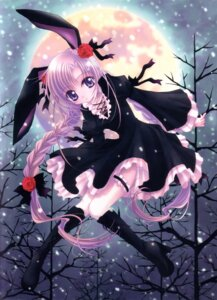 Rating: Safe Score: 13 Tags: animal_ears bunny_ears gothic_lolita lolita_fashion nishiwaki_yuuri User: petopeto