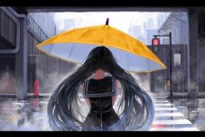 Rating: Safe Score: 18 Tags: seifuku umbrella window User: Dreista