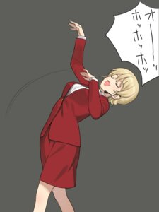 Rating: Safe Score: 11 Tags: a1 darjeeling girls_und_panzer initial-g User: NotRadioactiveHonest