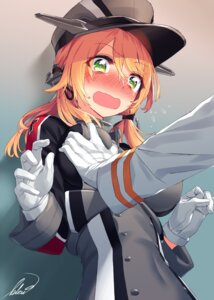 Rating: Questionable Score: 59 Tags: blew_and_white breast_grab kantai_collection prinz_eugen_(kancolle) uniform User: Mr_GT