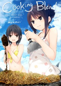 Rating: Safe Score: 51 Tags: aoyama_sumika bikini cleavage coffee-kizoku shiramine_rika swimsuits User: Twinsenzw