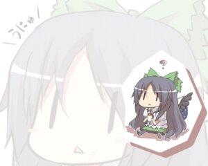Rating: Safe Score: 5 Tags: hiraga_matsuri reiuji_utsuho touhou wallpaper wings User: konstargirl