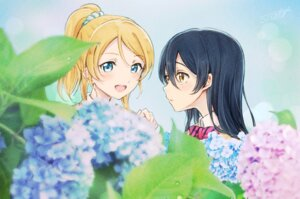 Rating: Safe Score: 15 Tags: ayase_eli love_live! seifuku sonoda_umi sweater tagme yuri User: Spidey
