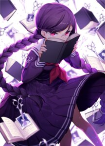 Rating: Safe Score: 52 Tags: dangan-ronpa fukawa_touko jenevan megane seifuku User: Mr_GT