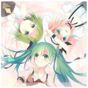 Rating: Safe Score: 20 Tags: gumi hatsune_miku kagamine_rin temari_(artist) vocaloid User: mahoru
