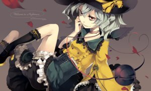 Rating: Safe Score: 6 Tags: bloomers komeiji_koishi lolita_fashion riku touhou witch User: Radioactive