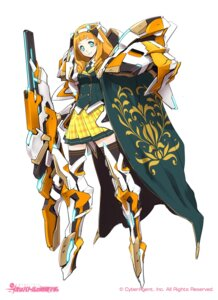 Rating: Safe Score: 25 Tags: armor fuyuno_yuuki gun mecha_musume seifuku weapon User: Radioactive