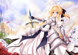 Rating: Safe Score: 22 Tags: fate/stay_night millelunar saber saber_lily User: Tensa