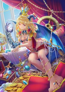Rating: Safe Score: 24 Tags: armor bikini_armor feet hldz horns sword wings User: BattlequeenYume