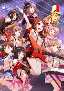 Rating: Safe Score: 33 Tags: bang_dream! guitar hanazono_tae ichigaya_arisa jpeg_artifacts minato_yukina mitake_ran tagme thighhighs toyama_kasumi tsurumaki_kokoro ushigome_rimi yamabuki_saaya User: saemonnokami