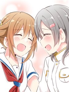 Rating: Safe Score: 14 Tags: china_moeka high_school_fleet misaki_akeno seifuku uniform yasaka_shuu User: saemonnokami