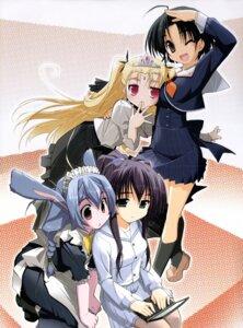 Rating: Safe Score: 15 Tags: akata_itsuki cocoro_navi crease crossover fixme hime-sama_ririshiku! maid pantyhose seifuku User: Wraith