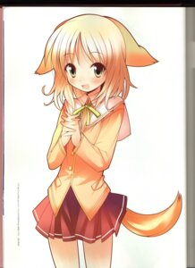 Rating: Safe Score: 13 Tags: animal_ears happiness inumimi kohinata_sumomo tail yamamoto_keiji User: MDGeist