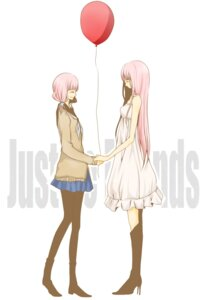 Rating: Safe Score: 10 Tags: balordo just_be_friends_(vocaloid) megurine_luka pantyhose vocaloid User: Radioactive