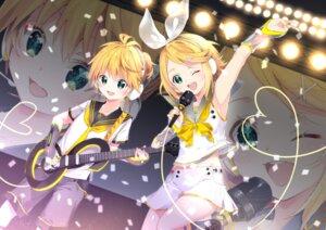 Rating: Safe Score: 14 Tags: arami_o_8 guitar headphones kagamine_len kagamine_rin seifuku vocaloid User: charunetra