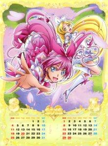 Rating: Safe Score: 4 Tags: calendar houjou_hibiki minamino_kanade pretty_cure suite_pretty_cure takahashi_akira User: crim