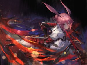 Rating: Safe Score: 31 Tags: animal_ears armor benghuai_xueyuan bunny_ears sword tagme yae_sakura_(benghuai_xueyuan) User: BattlequeenYume
