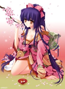 Rating: Safe Score: 49 Tags: carnelian cleavage kimono kuraki_mizuna moonlight_lady orbit User: charunetra