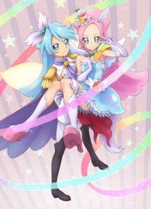 Rating: Safe Score: 8 Tags: chocokin dress heels julio_(precure) kirahoshi_ciel kirakira_precure_a_la_mode pretty_cure wings User: minakomel
