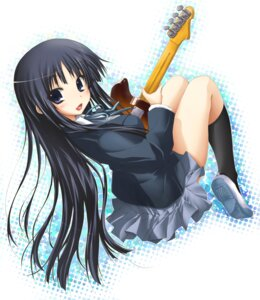 Rating: Safe Score: 23 Tags: akiyama_mio guitar k-on! luna_lia seifuku User: yumichi-sama