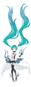 Rating: Safe Score: 17 Tags: 7th_dragon 7th_dragon_2020 dress hatsune_miku humanlynn thighhighs vocaloid User: charunetra