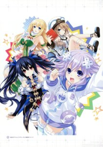 Rating: Safe Score: 16 Tags: blanc choujigen_action_neptune_u choujigen_game_neptune neptune noire tsunako vert User: Radioactive
