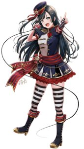 Rating: Questionable Score: 16 Tags: heels love_live!_nijigasaki_high_school_idol_club mia_(fai1510) thighhighs uniform yuuki_setsuna User: Dreista