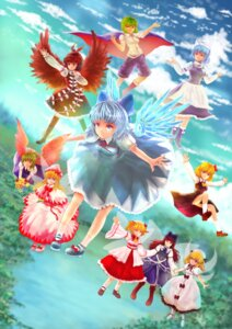 Rating: Safe Score: 8 Tags: antherlandrolia cirno daiyousei letty_whiterock luna_child mystia_lorelei rumia star_sapphire sunny_milk touhou wriggle_nightbug User: Mr_GT