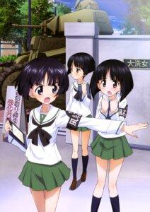 Rating: Safe Score: 12 Tags: girls_und_panzer gotou_moyoko konparu_nozomi seifuku sono_midoriko User: drop