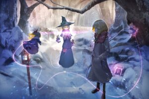Rating: Safe Score: 13 Tags: alice_margatroid gesoking06 heels kirisame_marisa touhou witch User: Dreista