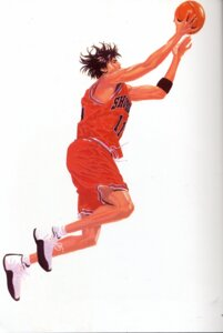 Rating: Safe Score: 3 Tags: basketball inoue_takehiko male rukawa_kaede slam_dunk User: Umbigo