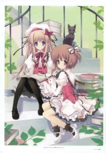 Rating: Safe Score: 33 Tags: lolita_fashion morinaga_korune neko pantyhose User: crim